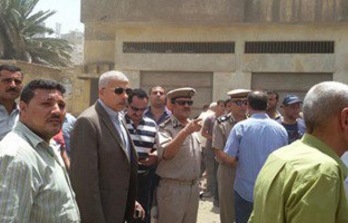 بالصور.. مدير أمن الغربية يتفقد آثار حريق مستشفى مبرة المحلة