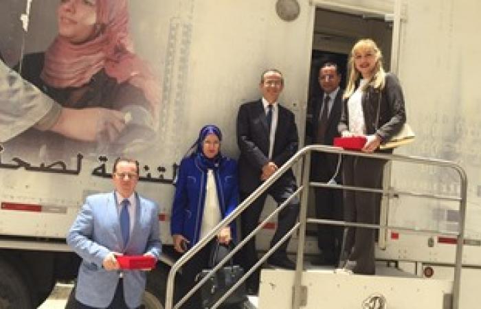 بالصور.. انطلاق الحملة القومية للكشف المبكر عن سرطان الثدى بجامعة القاهرة