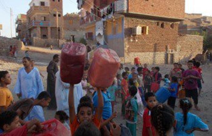 """انقطاع مياه الشرب عن قرى """"حاجر البصيلية"""" بأسوان لمدة 48 ساعة متواصلة"""
