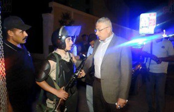 بالصور.. مدير أمن الغربية يتفقد القوات أمام جامعة طنطا ومحيط المسجد الأحمدى