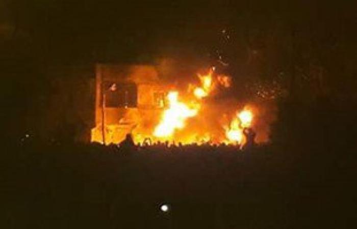 بالصور.. ارتفاع مصابى انفجار تانك السولار بكفر الدوار لـ 38 شخصا