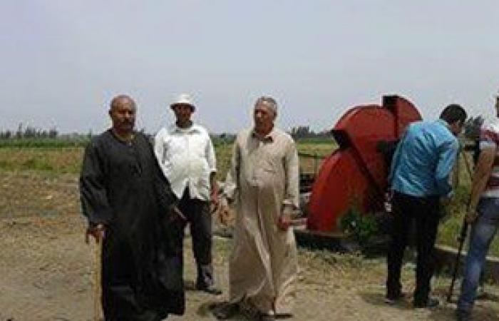 مزارعو كفر سعد بدمياط يشكون من قلة المياه للرى وعدم تطهير ترعة السلسلول