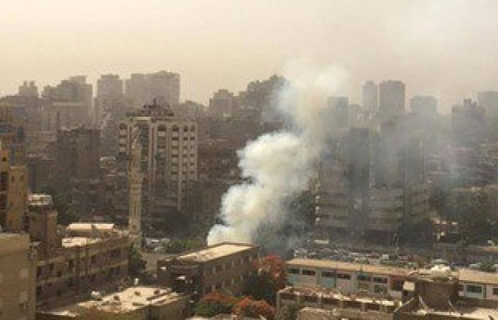 مصدر بالتعليم: انفجار إسطوانة غاز بغرفة عاملة سبب حريق مدرسة الدقى