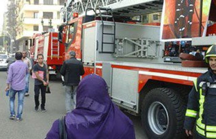 حريق هائل فى محطة بنزين بملوى