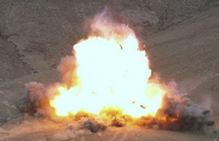 انفجار عبوة ناسفة فى مدرعة شرطة بالعريش دون إصابات