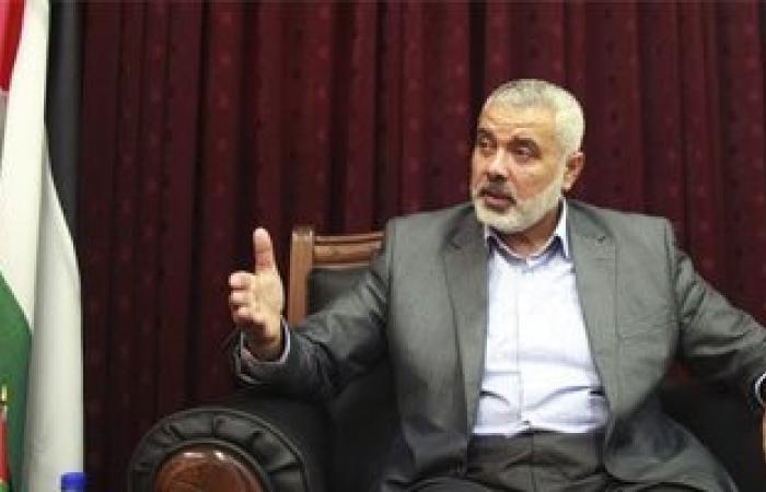 هنية: حماس ليست فى عجلة من أمرها للتفاوض حول صفقة تبادل الأسرى مع إسرائيل