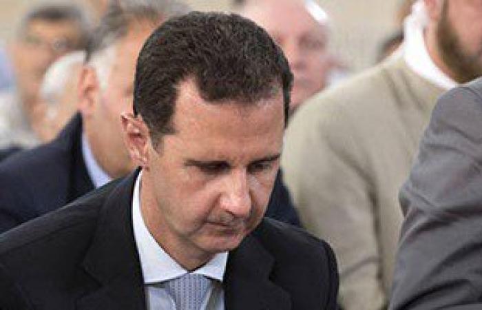"""بالصور.. بشار الأسد يتحدى الحرب السورية.. ويؤدى صلاة العيد بـ""""حمص"""""""