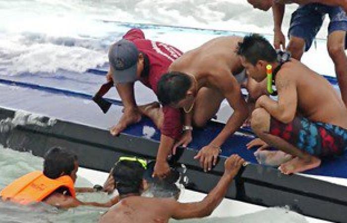 غرق شابين أثناء الاستحمام بشاطئ الهانوفيل غرب الإسكندرية