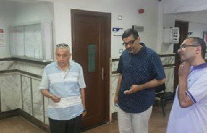 """وكيل """"صحة دمياط"""" يتفقد مستشفى الرمد فى ثانى أيام عيد الفطر"""