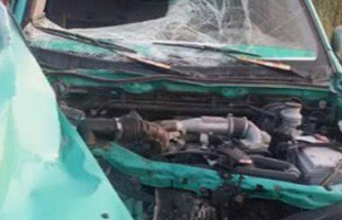 مصرع شخصين فى حادث تصادم بالطريق الصحراوى الشرقى أسيوط ــ سوهاج