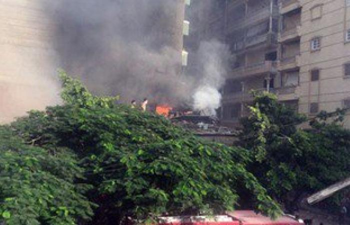 بالصور.. حريق فى منزل بالعصافرة شرق الإسكندرية وإصابة شخص