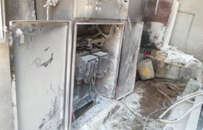 حريق كابل كهرباء قرب فندق شهير بالهرم.. والحماية المدنية تحاول السيطرة