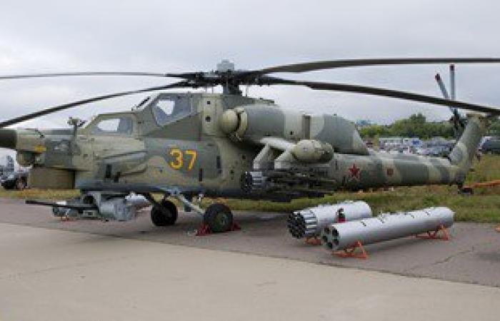 """العراق يتسلم دفعة جديدة من طائرات """"صياد الليل"""" المروحية الروسية"""