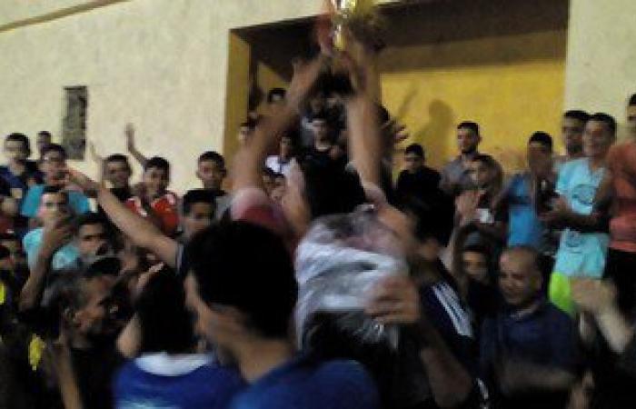 مركز شباب دمليج يفوز بدورة منوف لكرة القدم