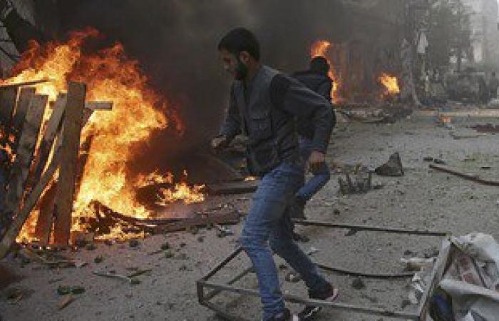 السلطات السورية تسيطر على انفجارات وقعت فى منطقة معامل الدفاع فى حلب