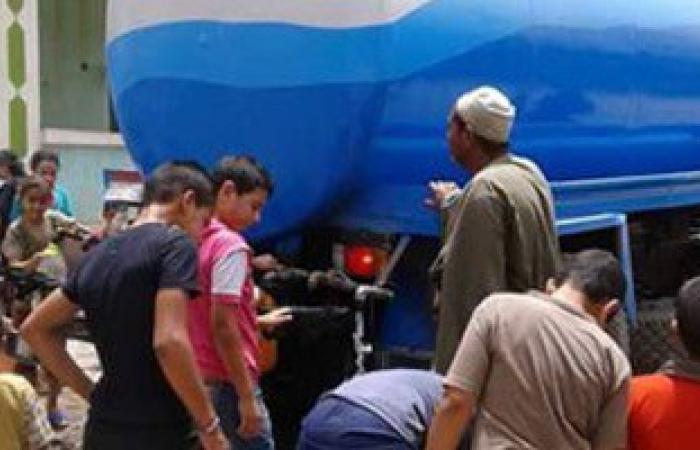 """انقطاع المياه لمدة 5 ساعات عن """"القناطر الخيرية"""" بالقليوبية غدًا"""