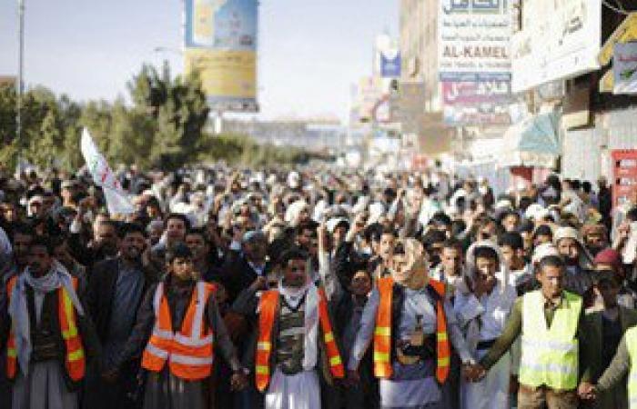مقتل 18 وإصابة 23 حوثيا فى مواجهات مع القوات اليمنية وقصف طائرات التحالف