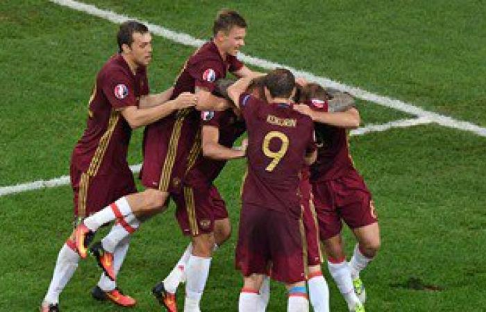 روسيا تسرح منتخبها الوطنى لكرة القدم قبل كأس العالم 2018