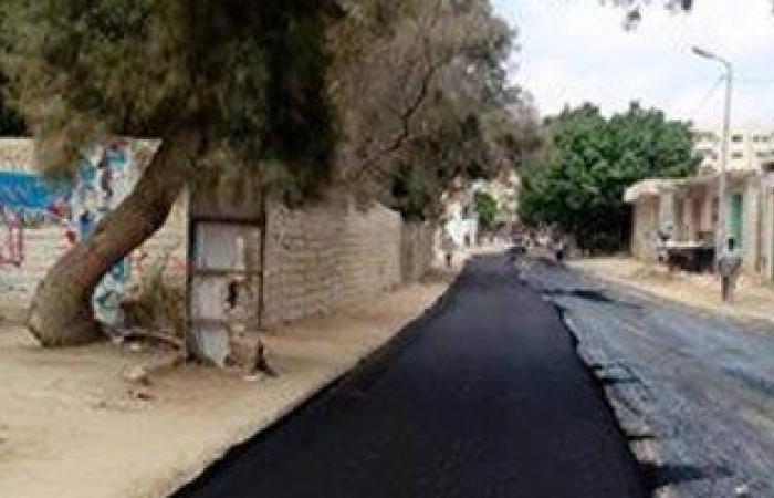 محافظة الإسكندرية تواصل أعمال رصف الشوارع الداخلية