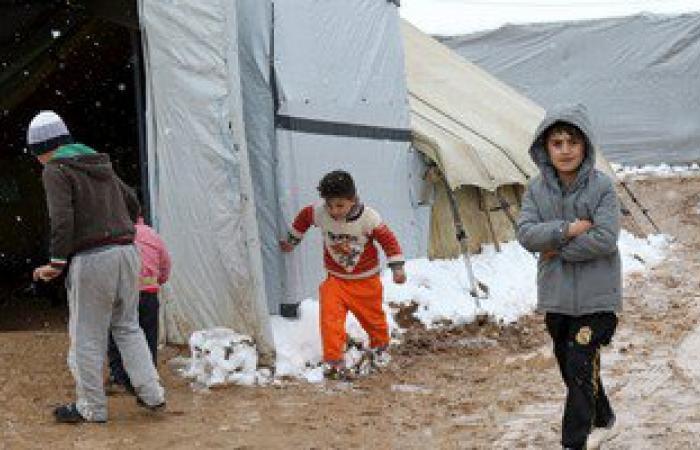 منظمة: نصف الأطفال السوريين اللاجئين فى لبنان خارج الدراسة