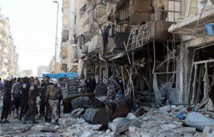 مقتل 56 مدنيا فى قصف لطائرات التحالف استهدف قرية فى شمال سوريا