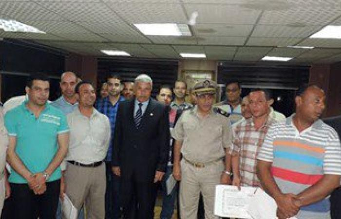 مدير أمن الغربية يكرم 34 أمين شرطة وموظف مدنى لتميزهم فى العمل