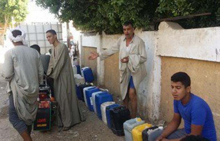 أهالى الجبيرات بسوهاج:جركن المياه النقية بـ10جنيهات بعد تغير لونها بالقرية