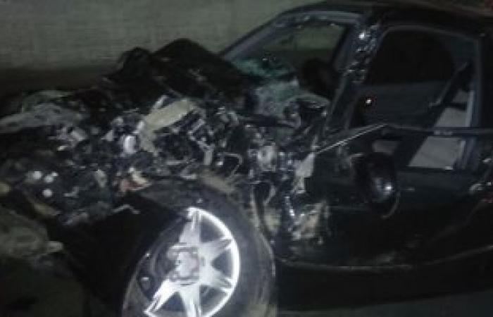 مصرع شخصين صدمتهما سيارة يقودها ضابط شرطة بطريق إسكندرية الصحراوى