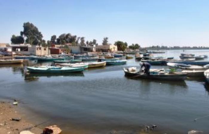 بالصور.. تلوث بحيرة التمساح بـ2 مليون متر مكعب من مياه الصرف
