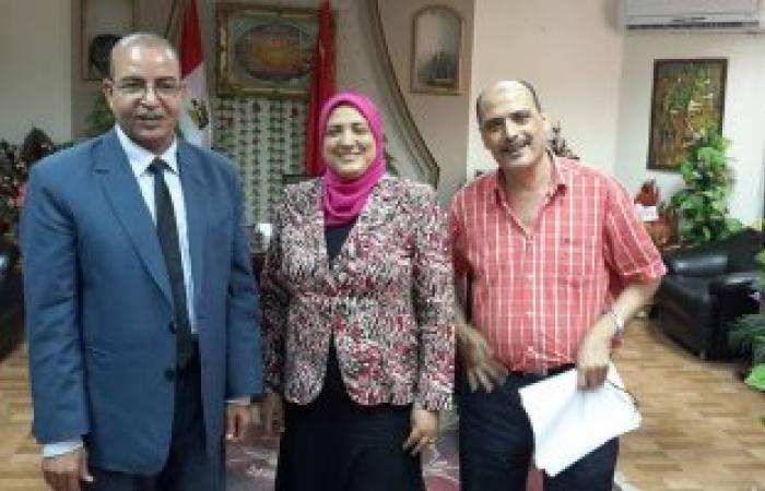 حركة تبادلية بين ادارة شمال والتعليم العام ببور سعيد