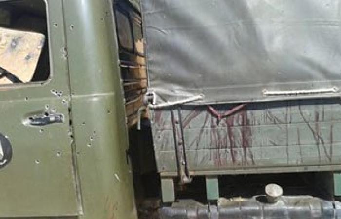 إصابة ابن رئيس أركان الهيئة الهندسية بحادث كمين زقدان بعدما قتل 4 تكفيريين