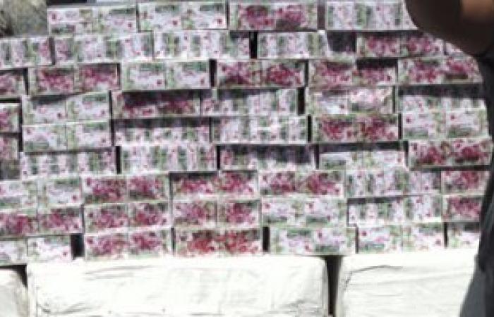 حبس عصابة ضبطت بحوزتها 5مليون قرص ترامادول و20 مليون دولار بمدينة نصر