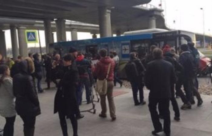 إجلاء 500 راكب من مبنى مطار روسى بعد بلاغ عن وجود قنبلة