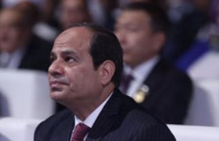 السيسى : مصر على الطريق للخروج من عنق الزجاجة