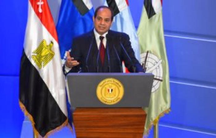 السيسى : لايوجد سياق إعلامى يعبر عن حقيقة الدولة المصرية