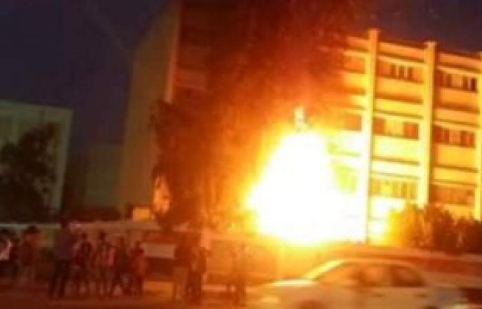 القبض على أحد المتهمين بحرق مجلس المدينه بالمنيا