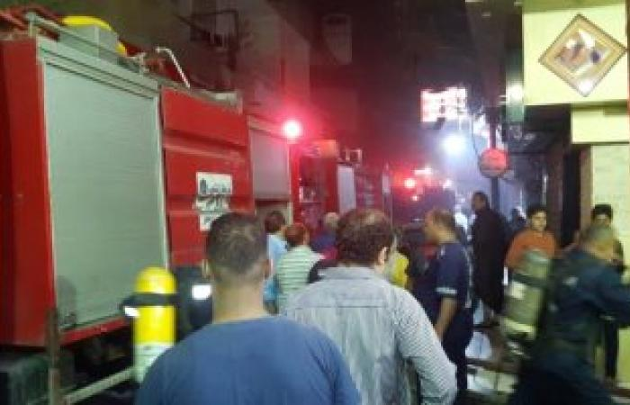 السيطرة على حريق بمخزن أدوات طباعة بمدينة العاشر من رمضان بالشرقية