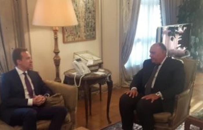 وزير خارجية النرويج يغادر القاهرة بعد لقاء الرئيس السيسى