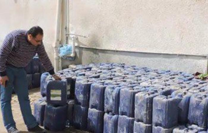 شرطة التموين: إحباط تهريب مليون لتر بنزين وسولار مدعم للسوق السوداء