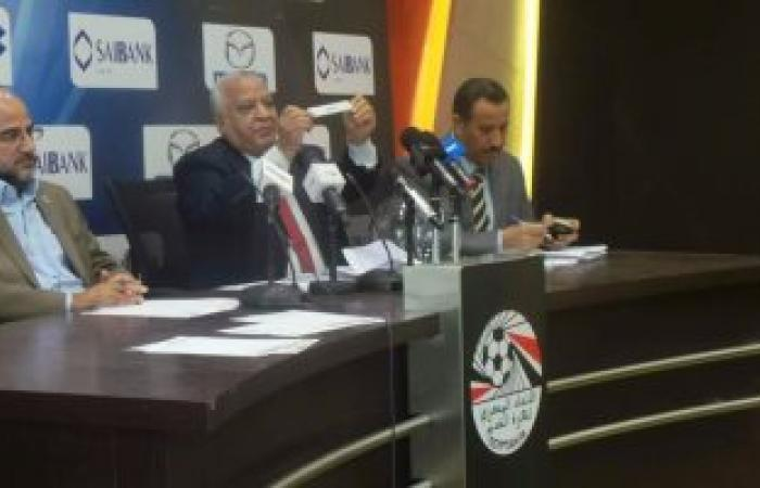 بالصور.. إقامة الدور التمهيدى الخامس لكأس مصر 2 و3 ديسمبر