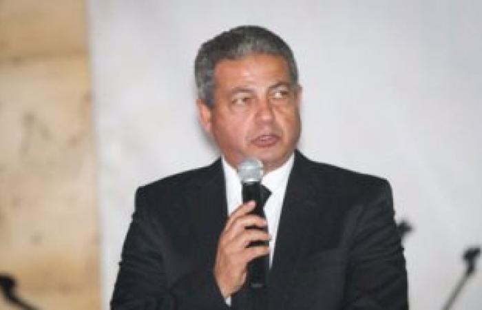 بالصور.. وزير الرياضة يعلن إقامة دورة باسم قدامى الرياضيين بمركز شباب الجزيرة