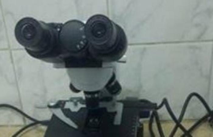 جمعية خيرية تتبرع بميكرسكوب لبنك الدم بدمياط