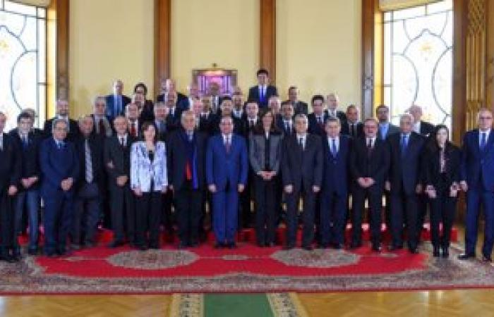 وزيرة الهجرة وعلماء مصر يزورون محور قناة السويس بدعوة من الفريق مهاب مميش