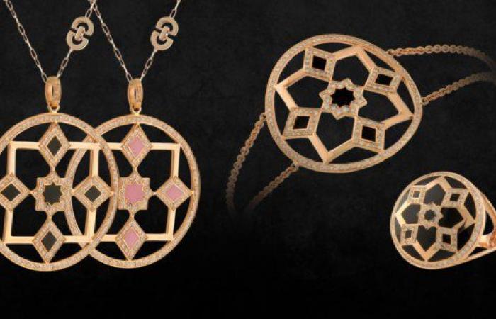 """مصممة المجوهرات المغربية غيثة شرايبي تستوحي تصميماتها من """"الزليج المغربي"""""""