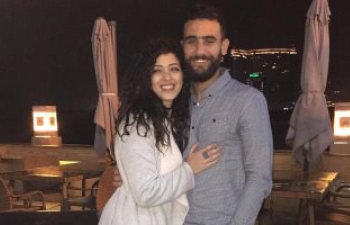 باسم مرسى مهنئا زوجته: عيد ميلاد سعيد يا حبيبتى