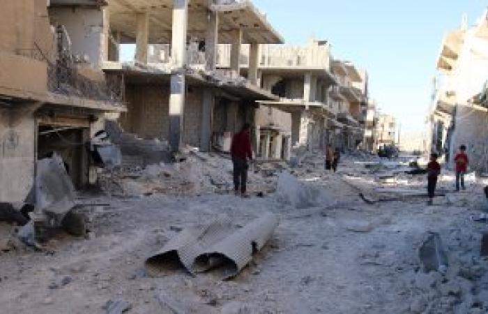 غارات روسية على الباب السورية الخاضعة لداعش