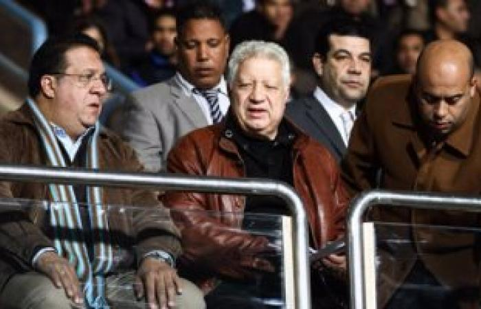 بالصور.. مرتضى منصور يجتمع بجهاز الزمالك غدًا للحديث عن خسارة القمة