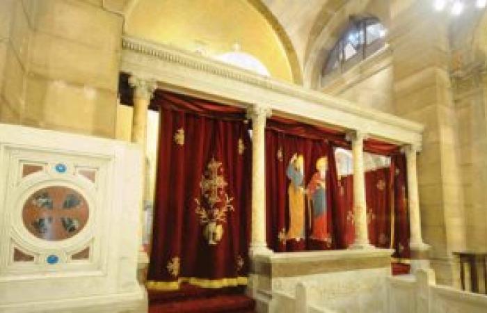 بالصور.. الهيئة الهندسية للقوات المسلحة تنتهى من ترميم الكنيسة البطرسية