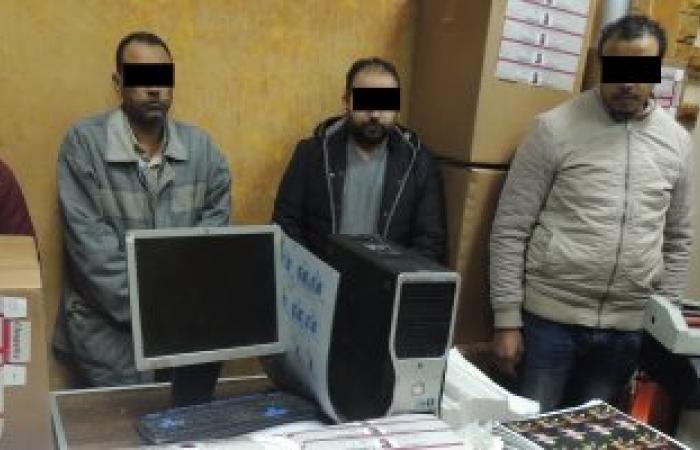 سقوط عصابة تزوير مطبوعات وزارة المالية لبيعها لمستوردى السجائر