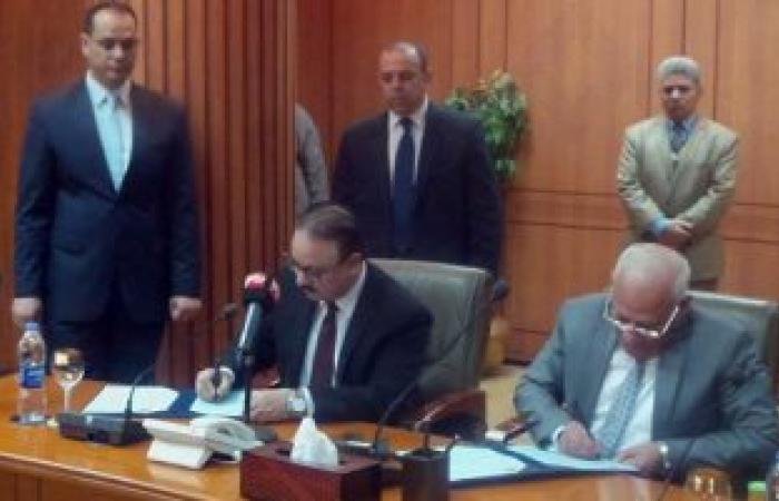 بالصور..الغضبان: زيارة وزير الاتصالات تدل على أن بورسعيد قاطرة التنمية